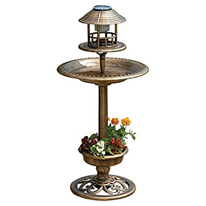 ornamental bird table