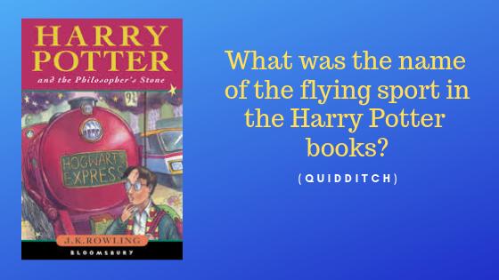 Harry Potter question