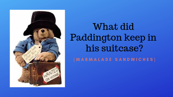 Paddington questionBook Trivia Questions and Answers