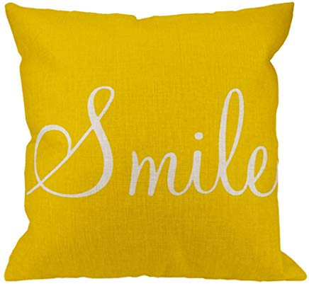 Yellow Smile Cushion