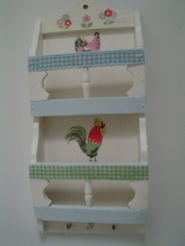 A really handy letter rack.