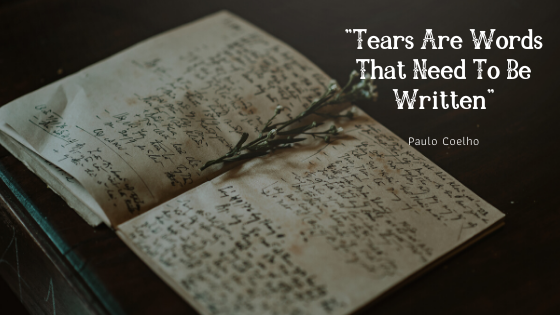 _Tears Are Words That Need To Be Written_